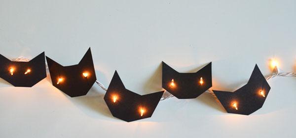 Guirnaldas decoración Halloween