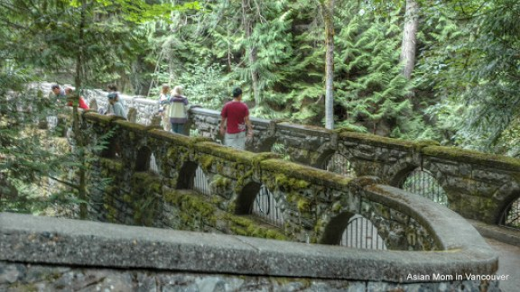Stone Bridge at Whatcom Falls Park