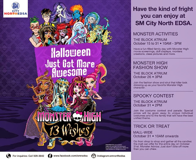 SM Malls Halloween Trick or Treat 2013