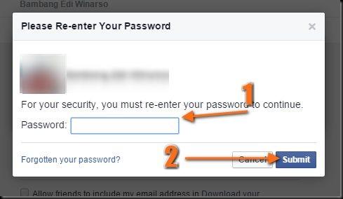 cara mengganti email di facebook akun