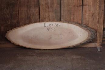 "540 Black Ash -5  1 1/4""x 52"" Max Dia  x 16"" Min Dia"