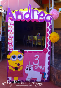 My hobby My Art: Minion Girl Birthday Party parte 3!!!!