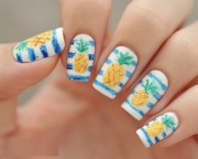 trendy fimo fruits nail art design