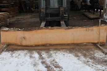 """083 - 11 Ash 2"""" x 19 - 13"""" Wide x 12' Long  Kiln dried"""