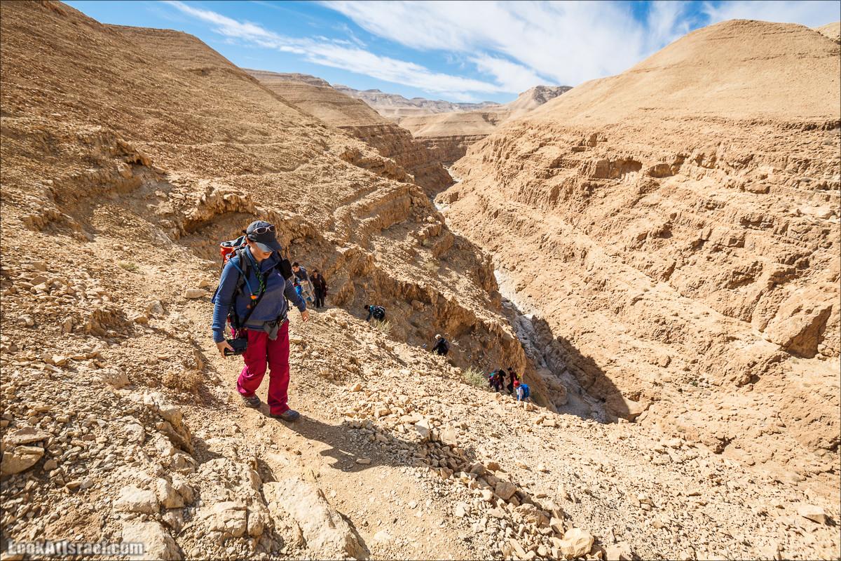 Экстремальный поход по Азгад и Ашалим   Extreme hiking in canyons Azgad & Ashalim   נחל עזגד אשלים   LookAtIsrael.com - Фото путешествия по Израилю