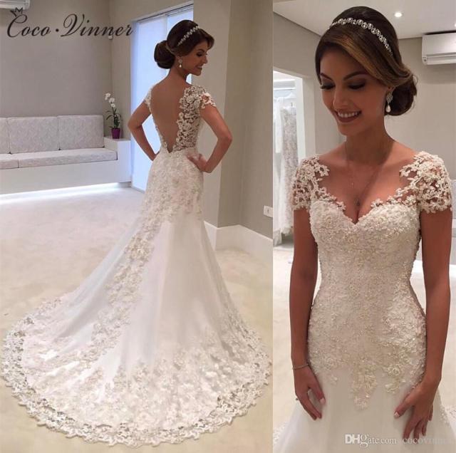wedding dresses styles for short brides - raveitsafe