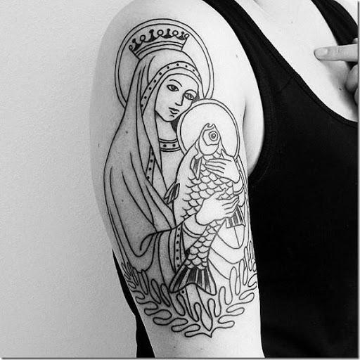 Tatuajes De La Virgen María Tatuajes247