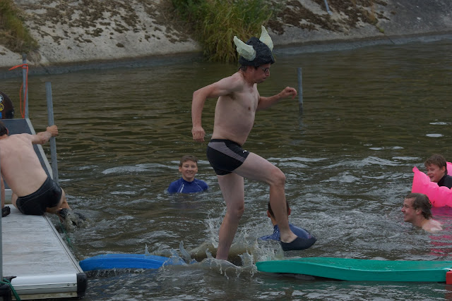 op het water lopen