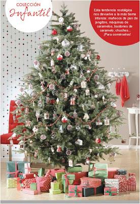 Decorar la Navidad para los niños.
