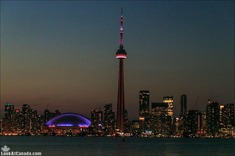 Ночные огни Торонто