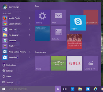 A Closer Look At Windows 10 OS (How It Looks Like And How To Customize It ) 2