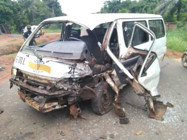 Accident Along Akwa-Ekwulobia Road