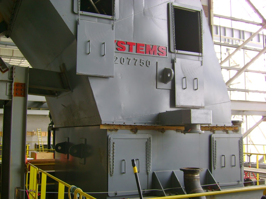 Any off-gas emissions can be better contained because of the one-piece construction of Spray-Cooled furnace ductwork.