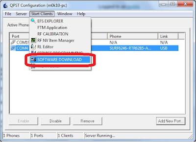 QPST Software Download Mode