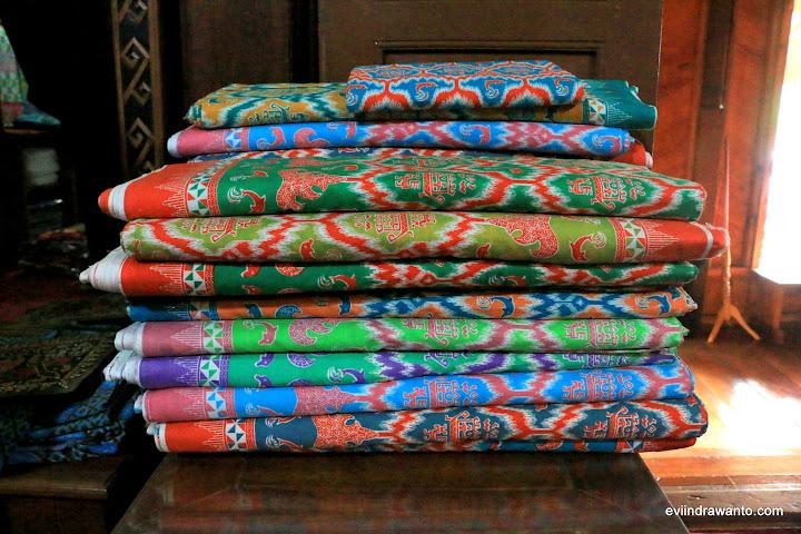 Tumpukan Batik Printing