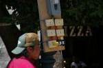 An electrician preparing power distribution board for the Day of the Dead (Dia de los Muertos) celebrations in San Miguel de Allende, Mexico.