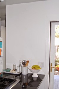 Blank Kitchen Wall Ideas