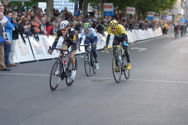 Pauwels, Quintana en Froome