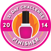 31 Day Challenge Finisher Badge