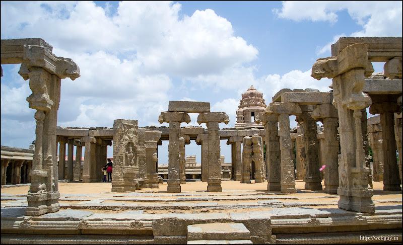 The Unfinished Kalyana Mantapa - Lepakshi