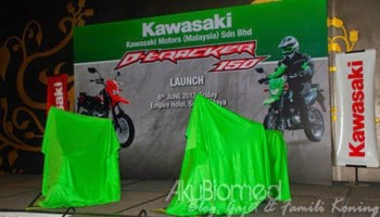 Pelancaran Kawasaki D-tracker 150 baharu