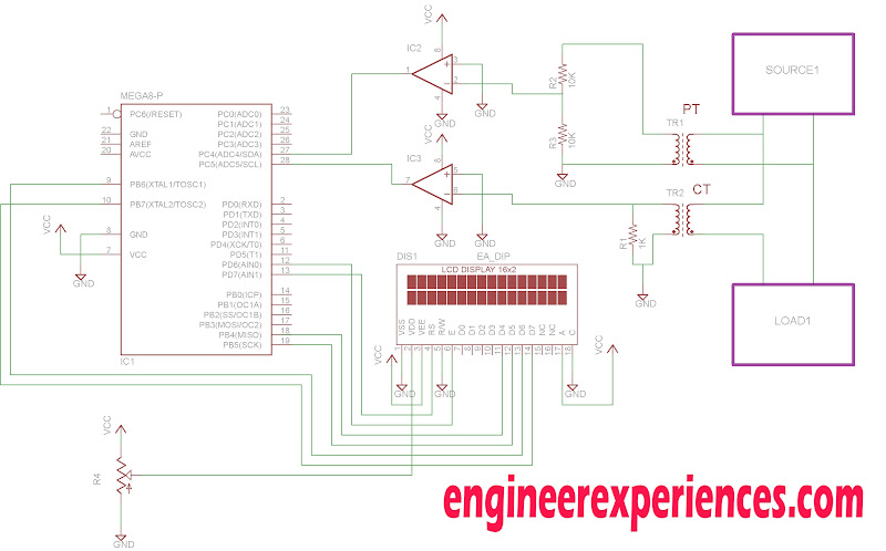 Circuit?ssl=1 power factor measurement using atmega8 16 engineer experiences form 35s meter wiring diagram at creativeand.co