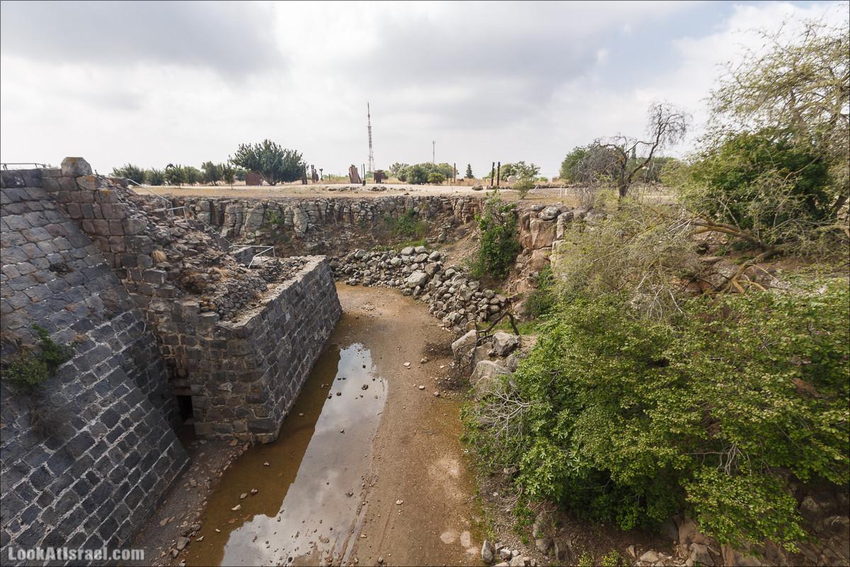 Крепость Бельвуар   Belvoir fortress   כוכב הירדן   LookAtIsrael.com - Фото путешествия по Израилю
