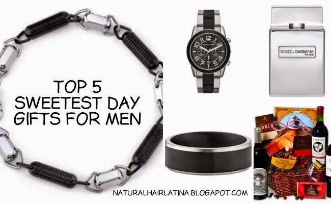 Naturalhairlatina Top 5 Sweetest Day Gifts For Men