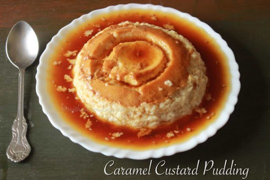 Caramel Custard Pudding2
