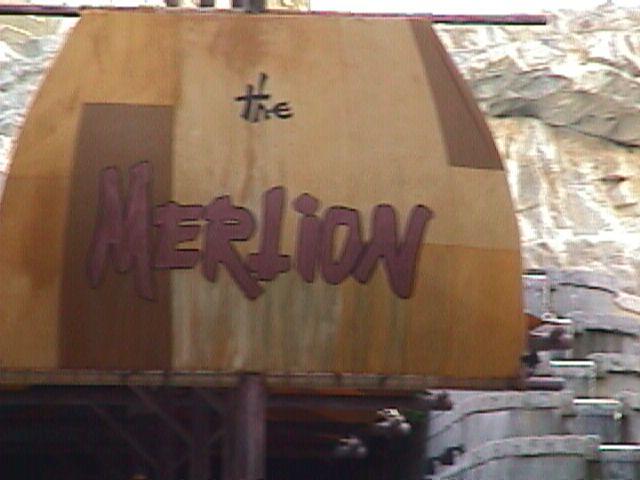 3460Sentosa's Merlion
