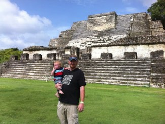 Mayan Belize Temple of Atun Ha