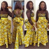 ~  ~ top ankara skirts and blouses  2017 ~  ~