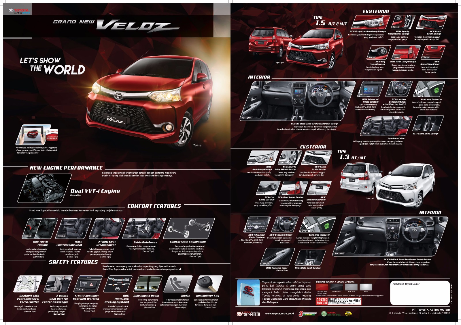 harga grand new avanza veloz all kijang innova type g termurah dealer anzon toyota pontianak kalimantan