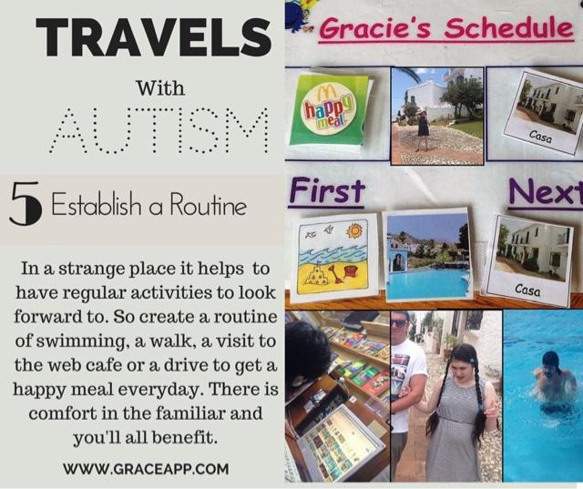 establish a routine