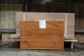 "598 4 Cherry 4 piece1 3/4"" x 40""  x 39"" Wide x  59 3/4""  Long"