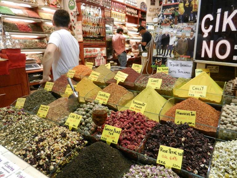 Eqyptian Spice Market, Istanbul, Turkey