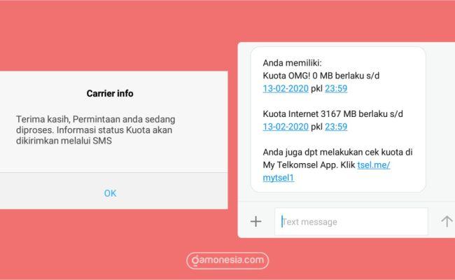 4 Cara Cek Kuota Telkomsel 4g 2020 Simpati As Loop Dokter Andalan