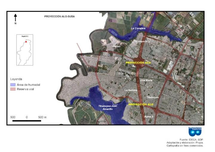 Mapa ALO Suba