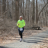 Princeton Athletic Club Institute Woods 6K April 5, 2014 Men's 70's winner - Dick Harnly, Fort Wayne, IN - 38:00