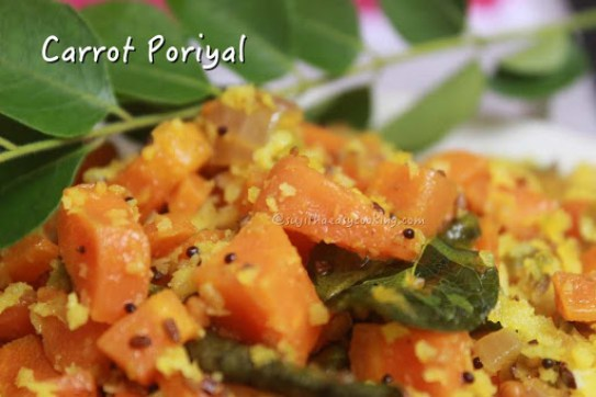 Carrot Poriyal1