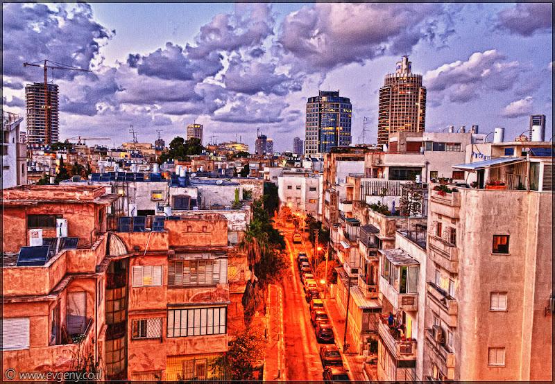 Покинутый город: Тель Авив в HDR