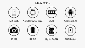 Infinix S2 Pro -  Price And Specifications In Nigeria and Kenya 3