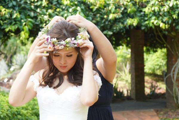 Singapore Botanical Garden Wedding Picture