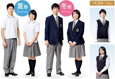 中京大学附属中京高等学校の女子の制服