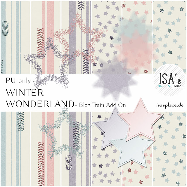 Blog Train Winter Wonderland Add On