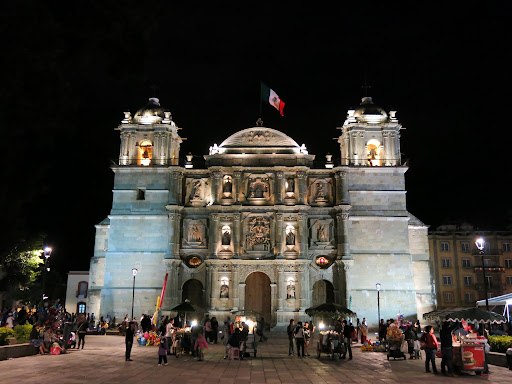 Cathedral at Oaxaca Zocalo
