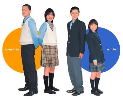 寒川高等学校の女子の制服