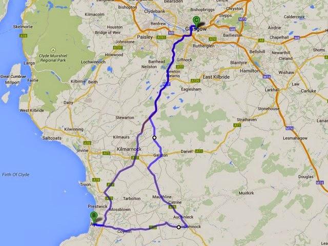 18. Passeando por caminhos Celtas – mais um azar em Glasgow… (1/6)