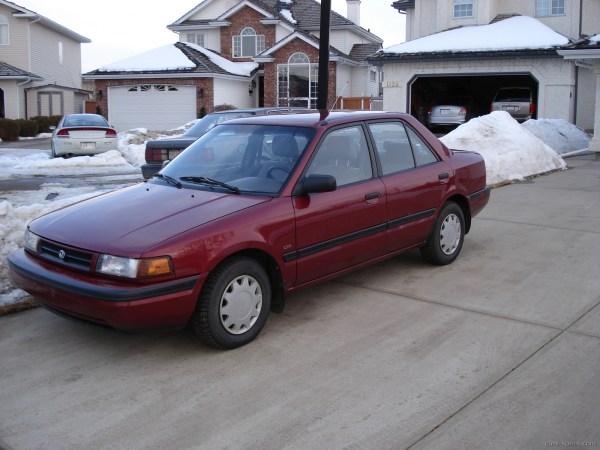 1990 Mazda Protege Sedan Specifications