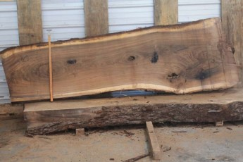 Walnut 220-6   Length  9'     Max Width (inches)  36      Min Width (inches) 25      Notes 10/4